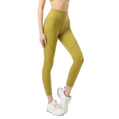 QTJY Pantalones de Yoga sin Costuras para Mujer, Push-ups, Celulitis, Ejercicio, Gimnasio, Pantalones de Yoga, Cintura Alta, Estiramiento, Ejercicio, Pantalones para Correr, D XL