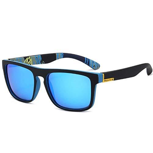 XCSM Gafas de Sol polarizadas para Hombre Gafas de conducción Retro Al Aire Libre Protección UV Gafas de Sol Deportes Golf Ciclismo Pesca Senderismo Gafas Ultraligero