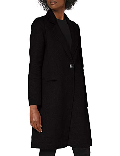 ONLY Damen ONLMILANO Life Wool Coat CC OTW Mantel, Black, L