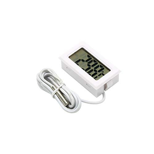 Thermomètre LCD Thermomètre numérique 1.5Vportable pour réfrigérateur d'aquarium