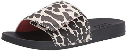 Keds Women's Bliss V Slide Sandal, Black/Cream, 8 -  WF64590