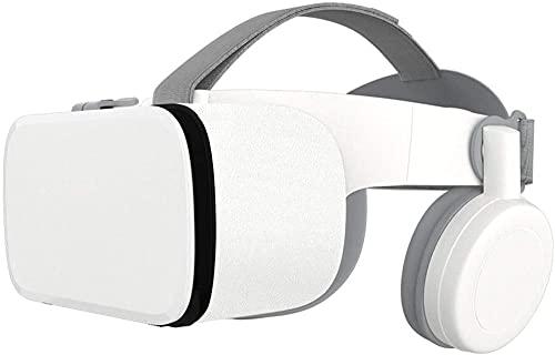 Gafas de realidad virtual ajustables 3D VR de los auriculares, gafas universales de la realidad virtual adecuadas para los juegos móviles y las películas-blanco