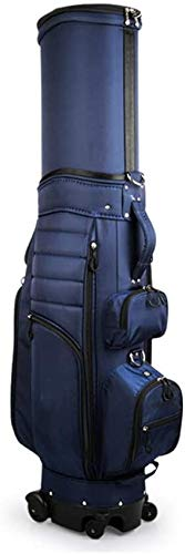 Golf Travel Cover Luggage,Golf Bag Dark Golf Bags Unisex Four Wheels with Telescopic Bag, Suitable for Golf Courses
