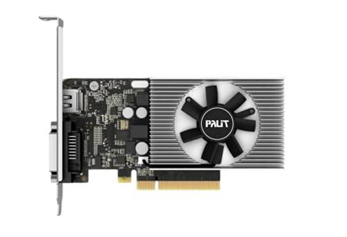 Palit GeForce GT1030 NEC103000646-1082F, 2GB DDR4, PCIe3, DVI, HDMI, 1379MHz, Low Profile
