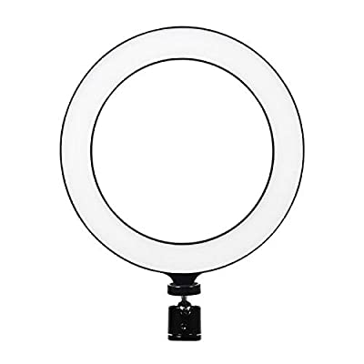 Ring Light with Stand and Phone Holder Makeup Selfie Ring Light for iPhone Circle Light for YouTube Photography Live Streaming from Yuguang