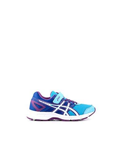 ASICS–Schuhe Running Pre Galaxy 8PS, Kinder, Blau/Violett, Jungen Baby Jugendliche, Soft Blue/White/Purple, 1,5 USA / 33 EUR