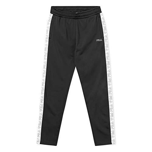 Fila Men Pants Pantaloni da uomo JAIRUS Tape Track, Nero, XXL
