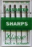 Klasse Machine Needles <span class='highlight'><span class='highlight'>Sharp</span></span>s Assorted