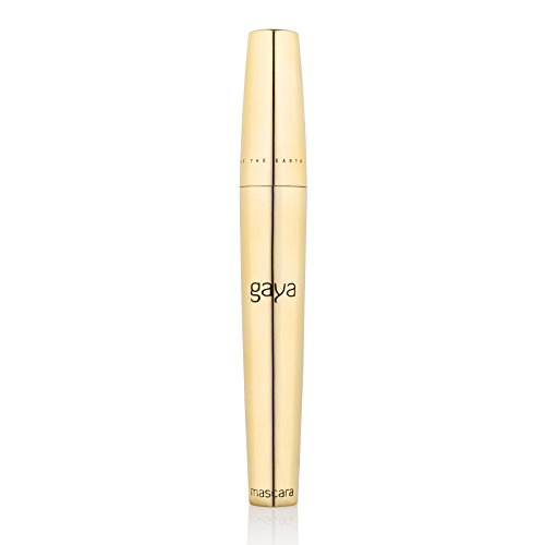 Gaya Cosmetics Vegan Wimperntusche Mascara - Wimpernverlängerung für Augen Schminken zur visuellen Verlängerung Natürlicher Wimpern (Brown Braun)