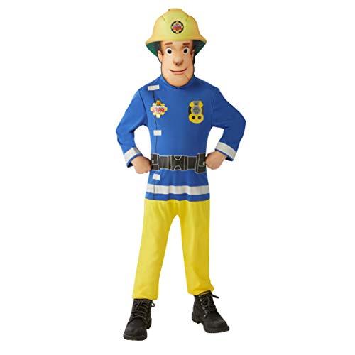Rubie's-déguisement officiel - Mattel - Déguisement Classique Sam Le Pompier - Taille M- I-620779M