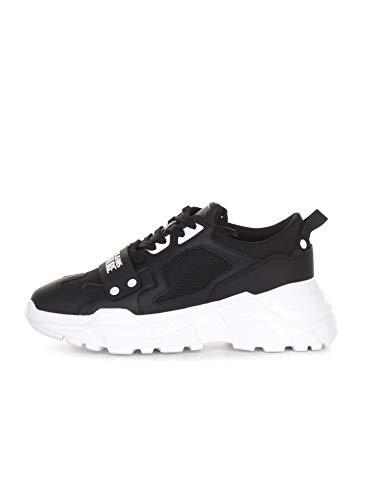 Versace Jeans Couture E0ywasc4 Zapatillas Moda Hombres Negro - 41 - Zapatillas Bajas