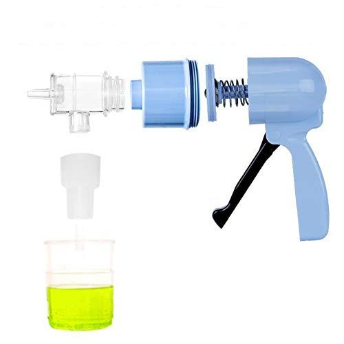 Jay De Mano de Alta succión de la Bomba de aspiración portátil Bombas Sifón médico de succión del Aspirador flema Máquinas secreción de moco ampliadora del Dispositivo Tos esputo Pacientes con asma