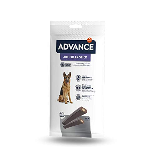 ADVANCE Snacks, Articular Stick para Perro - Paquete de 14 x 155gr - Total 2170gr ✅