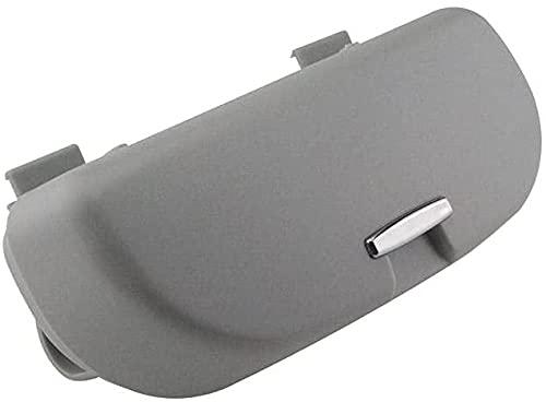 CZCLZG - Caja de almacenamiento para gafas de coche para Tesla Roadster Modelo 3 Modelo S Modelo X Bolsa protectora para gafas de sol color gris