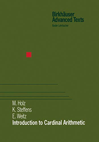 Introduction to Cardinal Arithmetic (Modern Birkhäuser Classics)