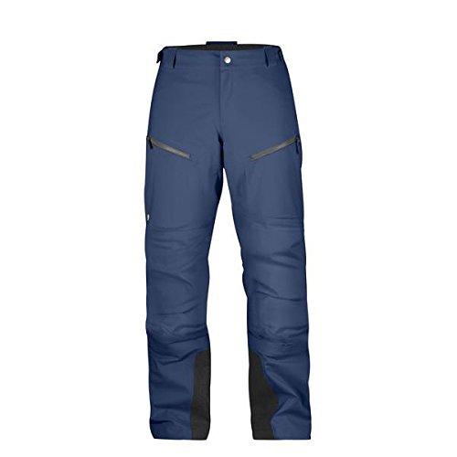 FJALLRAVEN Bergtagen Eco-Shell Trousers W Pantalon Femme, Bleu (Mountain Blue), 38