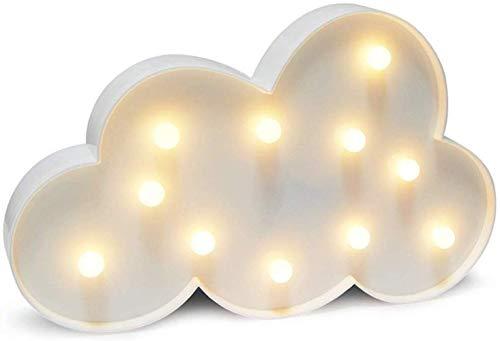 Carino 3D Star Moon Nuvola LED Luce Notte Lampada da Parete Bambino Camera da Letto Decorazione Regali Luci In piedi Lampada Da Sospensione Di Matrimonio Compleanno Bar Decorazione Da Muro