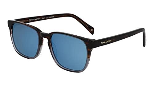 MAKARTHY Gafas de Sol Polarizadas Unisex Modelo HANKO (Azul)