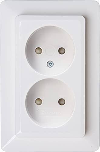 Kopp 950513007 HK02-Enchufe sin protección de Contacto