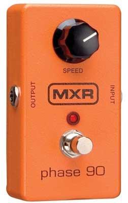 Dunlop M-101 mxr classics Phase 90 también para teclados y voz.