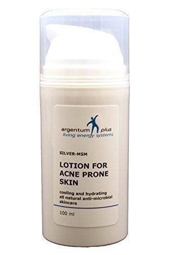Lotion pour Acné Argent-MSM - Contenance : 100 ml