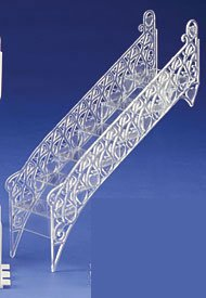A1 Bakery Supplies Wedding Cake Step Decorative Stair 2 Pack