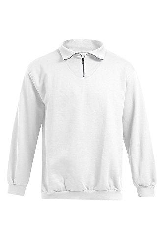 Promodoro Troyer Sweatshirt Herren, S, Weiß
