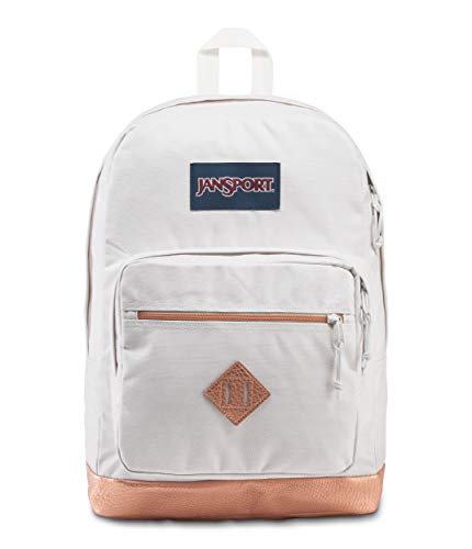 JanSport City View Remix Backpack, Pebbled Rose Gold