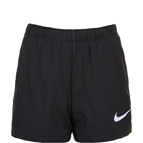 NIKE G Nk Dry 2in1 Short Sport Shorts, Niñas, Black/Lavender Mist/(Lavender Mist), S