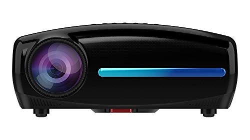 WZATCO S2 Native 1080P Full HD LED Projector, 5500 Lumens 4D Correction Home Cinema (Black)