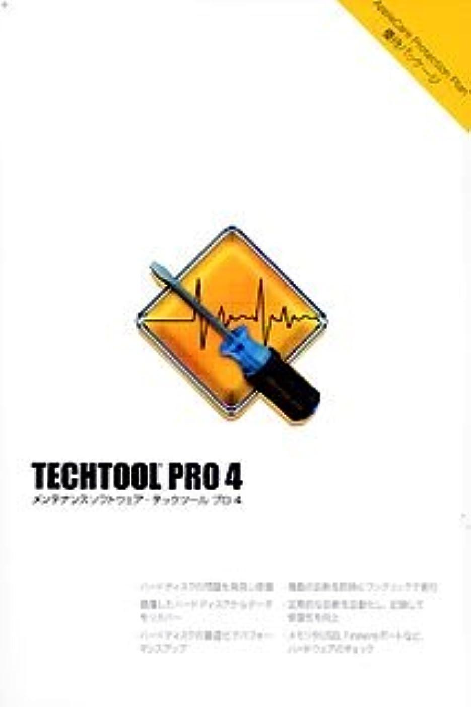とにかく講堂吸うTechTool Pro 4 Apple Care Protection Plan 優待パッケージ