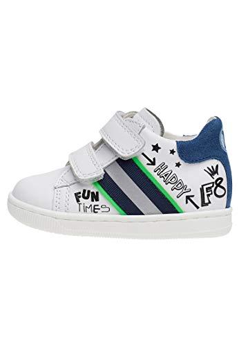 Falcotto Atley VL-Sneaker con Stampe-Bianco Bianco 26