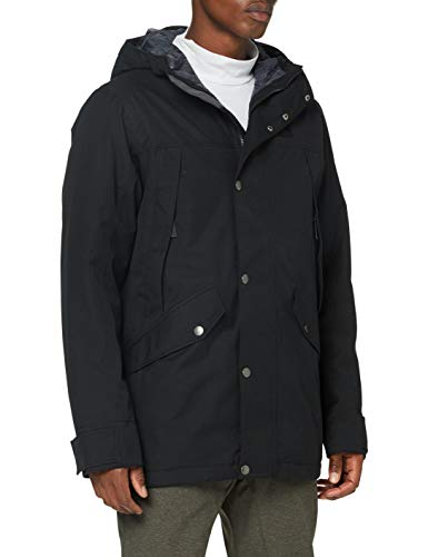 Jack Wolfskin Herren CLIFTON HILL JACKET M wasserdichte Winterjacke, Black, L