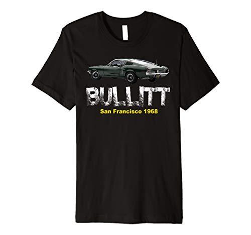 Bullitt muscle car classic t-shirt
