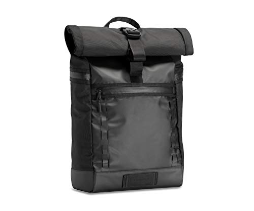 TIMBUK2 Tech Roll Top Backpack, Jet Black