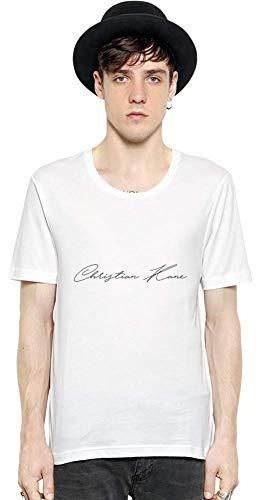 Movie Stars Merchandise Christian Kane Men Short Sleeve T-Shirt tee Shirt Stylish Fashion Fit Custom Apparel by XX-Large