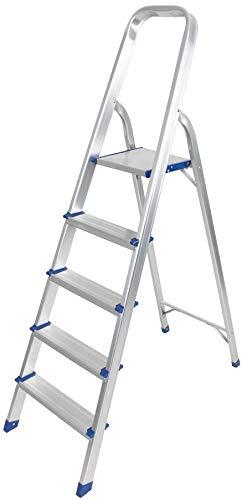 Peldaño Plegable de Aluminio para Escalera de Plataforma, Antideslizante, Plegable, Ligero, Plegable, de Alumi
