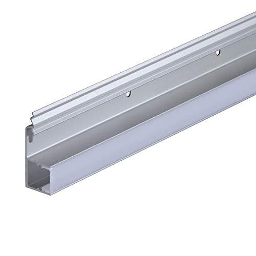 LED Clip aus Kunststoff grau inkl. Abdeckung (42 x 17 mm)