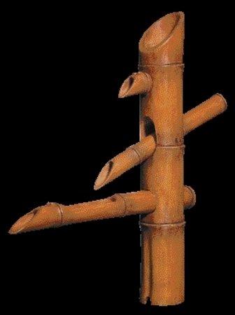 Adorno Bambú Japonés 3 Niveles