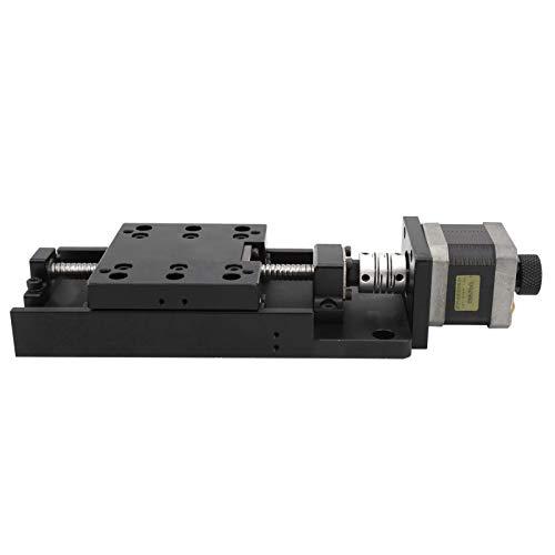Carril lineal Diapositiva deslizante Etapa Durable 80 x 80 mm Aleación de aluminio Eléctrico para equipo