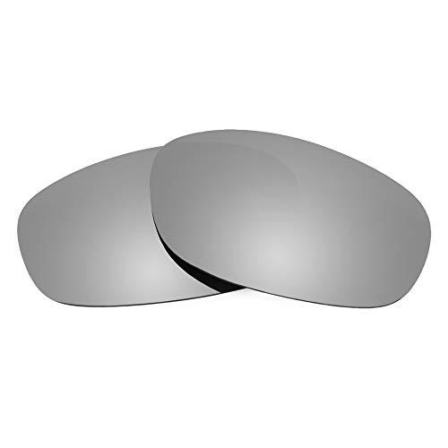 Revant Lentes de Repuesto Compatibles con Gafas de Sol Oakley Hatchet, Polarizados, Elite Titanio MirrorShield