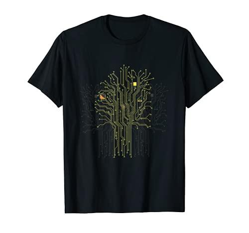 Novedad electricista Linesman entusiasta exprimidor Camiseta