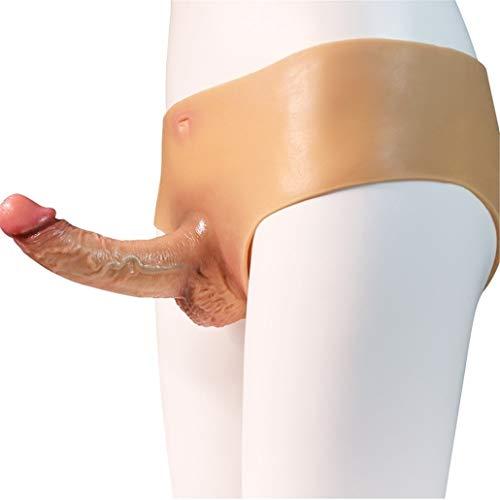 GAOFENLIAN Women Underwear Lésbián Pants Stráp ôn for Sèx for Women Strǎp Strapless Strapon Harness 100% Safe Silicone Material