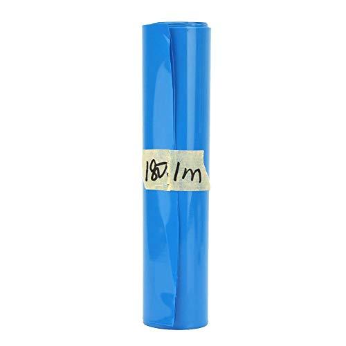 5 meter 18650 lithium krimpkous krimpband PVC met plakfolie 180mm