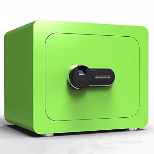 XiYou Caja Fuerte de Seguridad, hogar con Pared Invisible de depósito de Huellas Dactilares para Oficina Mediana (Negro, 40 * 30 * 36 cm)