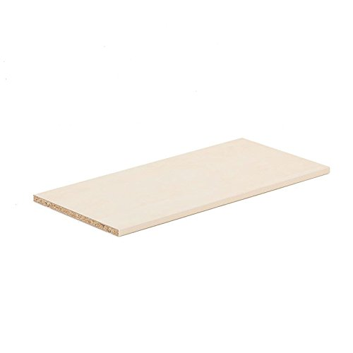 AJ Produkter AB 1613242 Modulus extra plank, 760 mm x 360 mm, berk