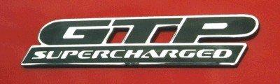 supercharged pontiac sticker - 6