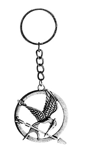 Portachiavi Ghiandaia Imitatrice - Mocking Bird - Hunger Games - La Ragazza di Fuoco - Uccello - Freccia - Uomo - Donna - Unisex - Idea regalo Natale e Compleanno