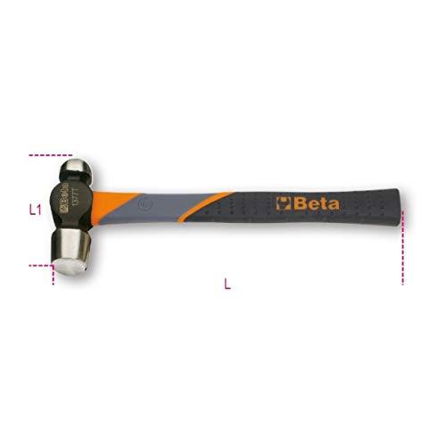Beta Beta 1377T 570 Martillo de Cabeza Redonda y Boca Esférica para Caldereros y Hojalateros Mango en Fibra 570 Gramos
