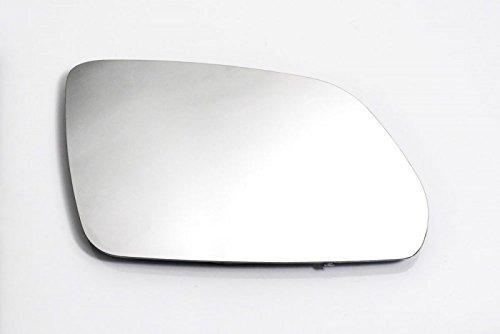 Spiegelglas Rechts Beifahrerseite Beheizbar Konvex Weiß